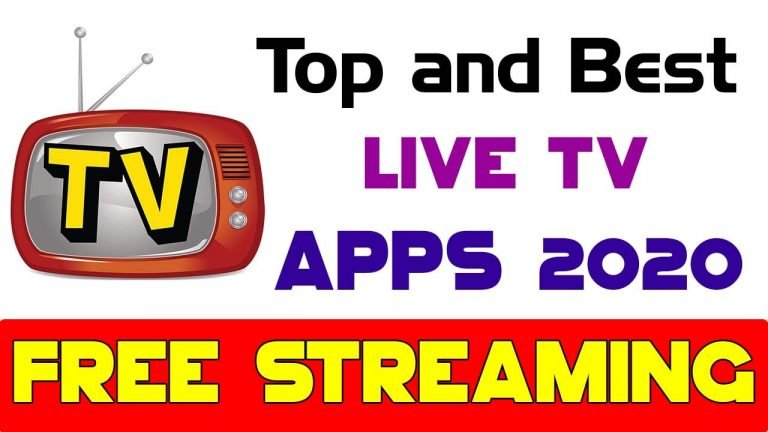 Best live tv streaming apps