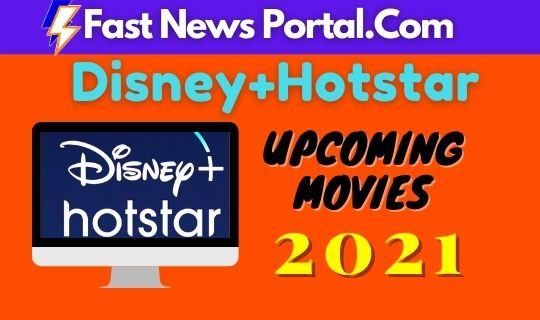 Disney+Hotstar Upcoming Movies
