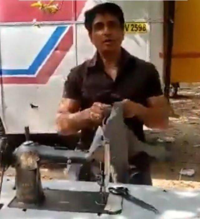 Sonu Sood Opens a Tailor Shop