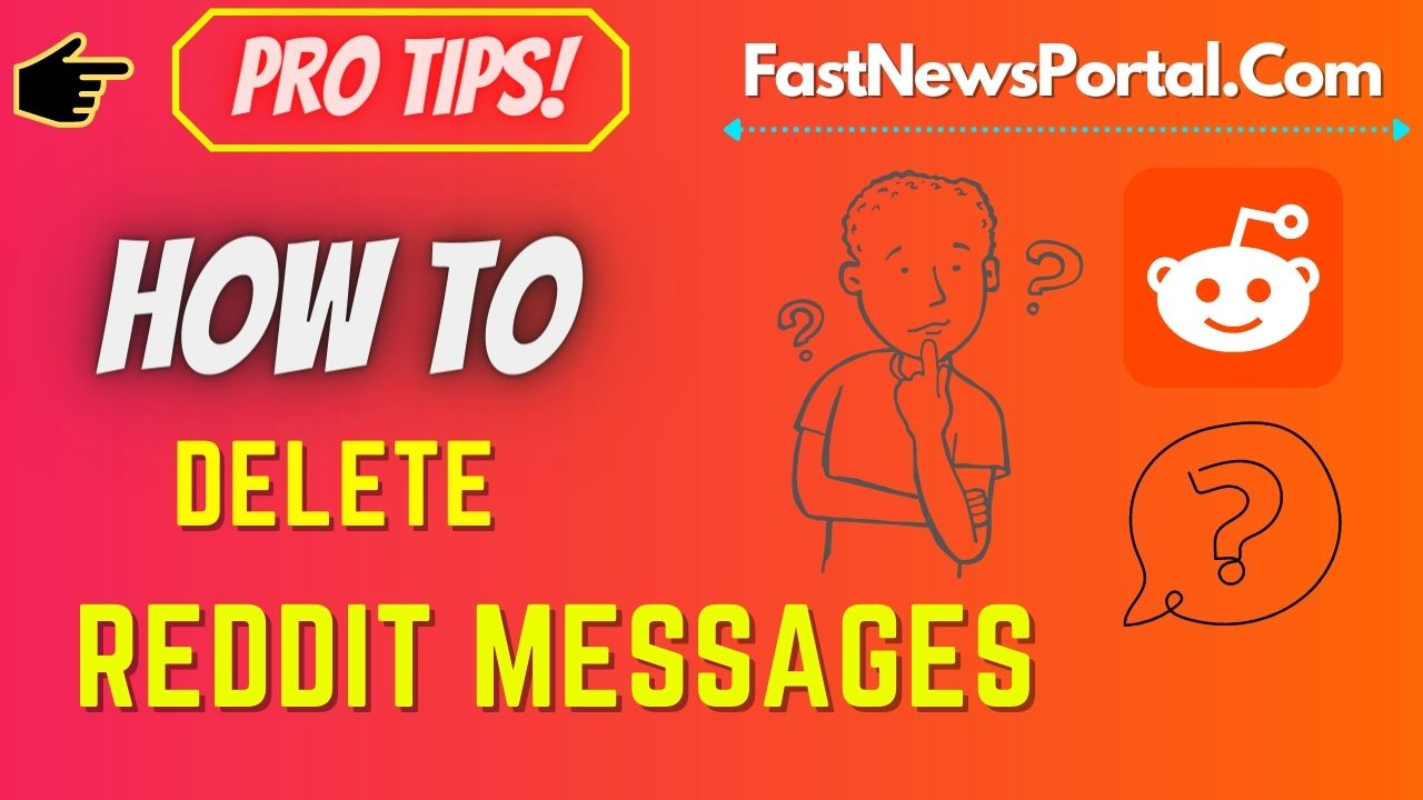 how to delete messages on reddit app