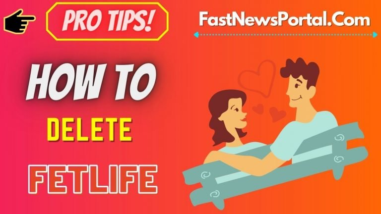 How to delete FetLife Account