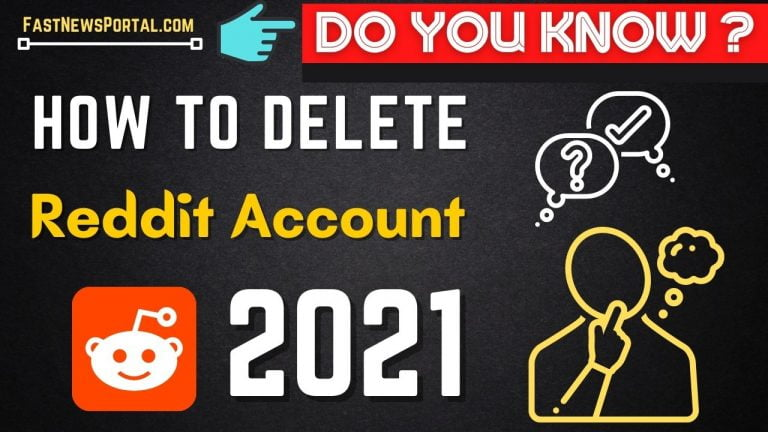 delete reddit account permanently 2021