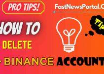 How to delete binance account 2021