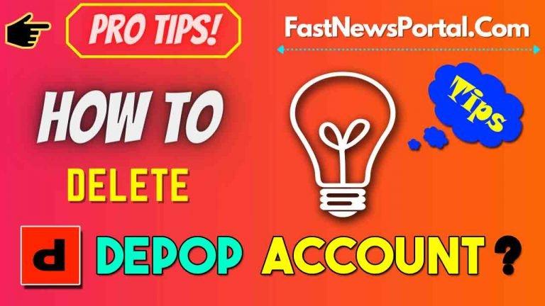 How to delete Depop Account 2021 ?