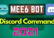 Complete mee6 commands list 2021