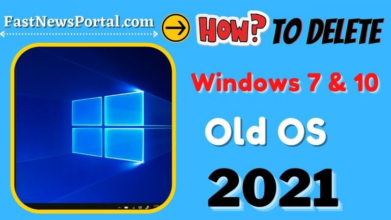 How to delete previous version of Windows 2021