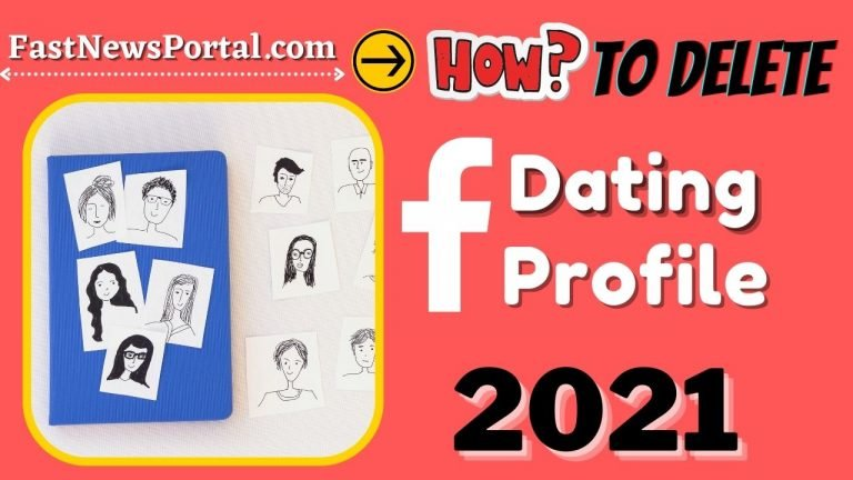 How to delete profile on Facebook Dating App 2021