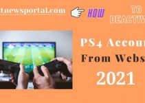 How to deactivate PS4 Account from Website