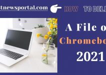 How to delete a file on Chromebook?