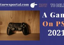 How to delete a game on PS4