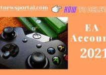 How to delete EA Account 2021